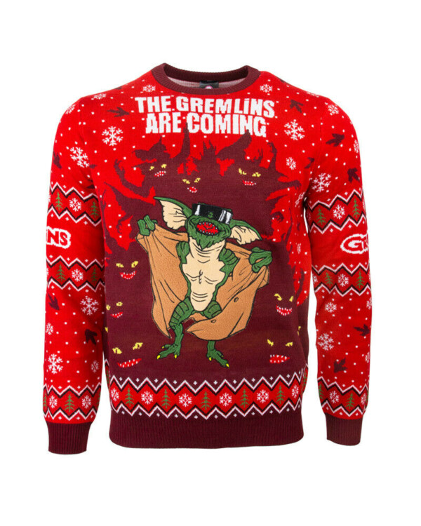 gremlins funny ugly christmas sweater