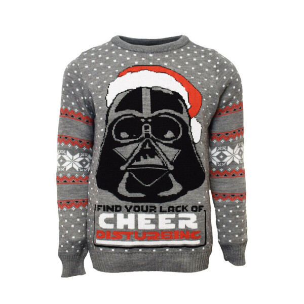 star wars darth vader funny ugly christmas sweater nerd gift