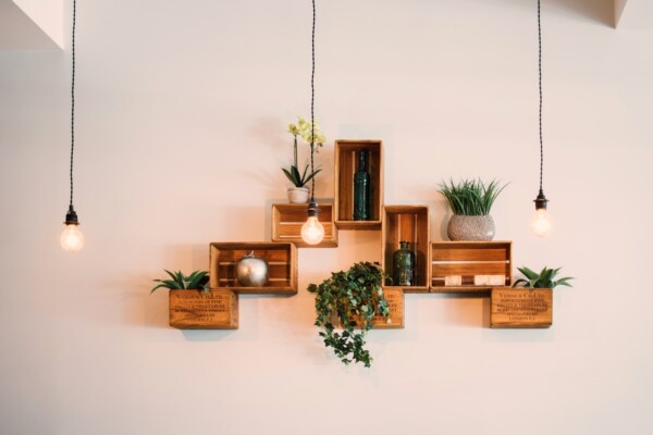 decorative shelf for small space