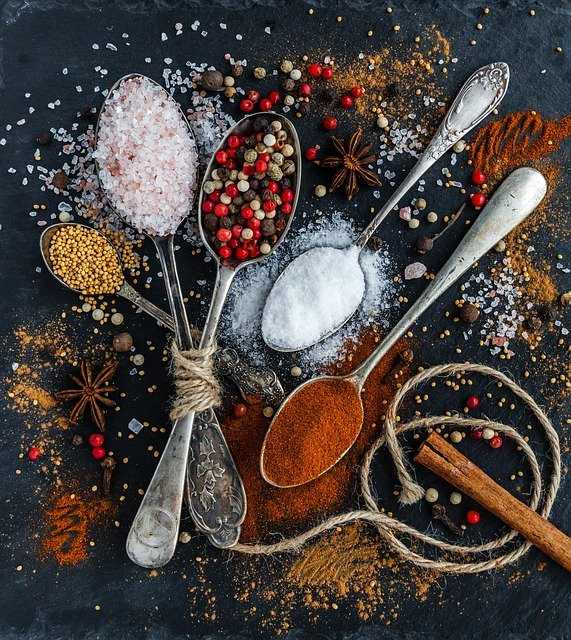 herbs and spices for healthy gift