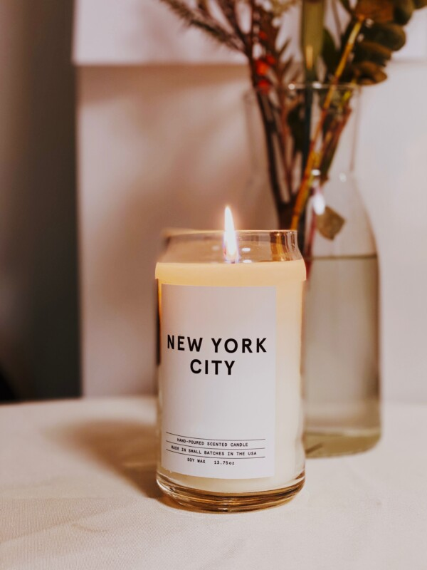 new york city candle gift
