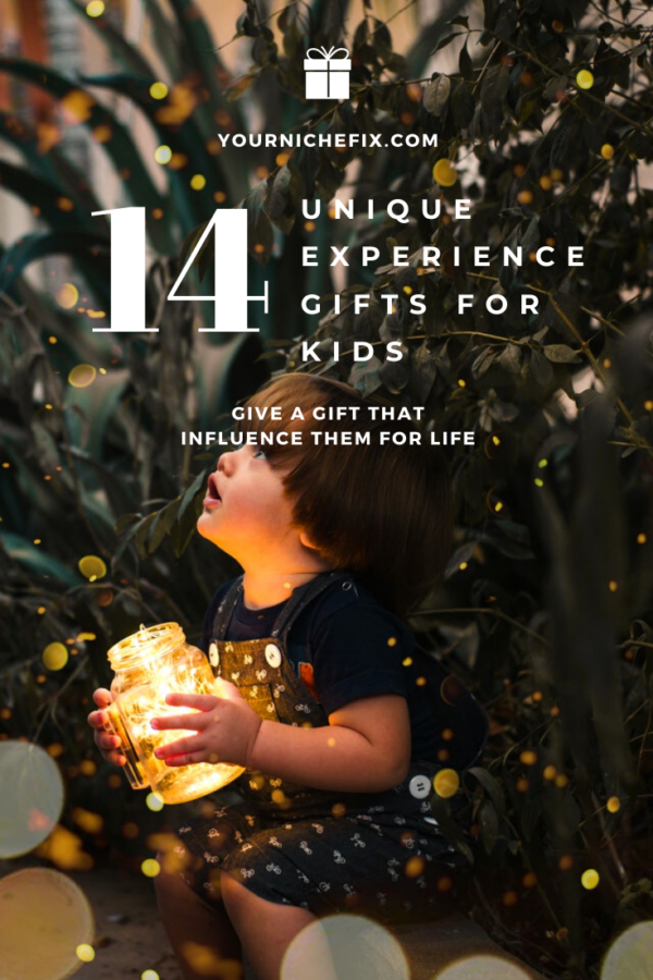 14 unique experience gifts for kids